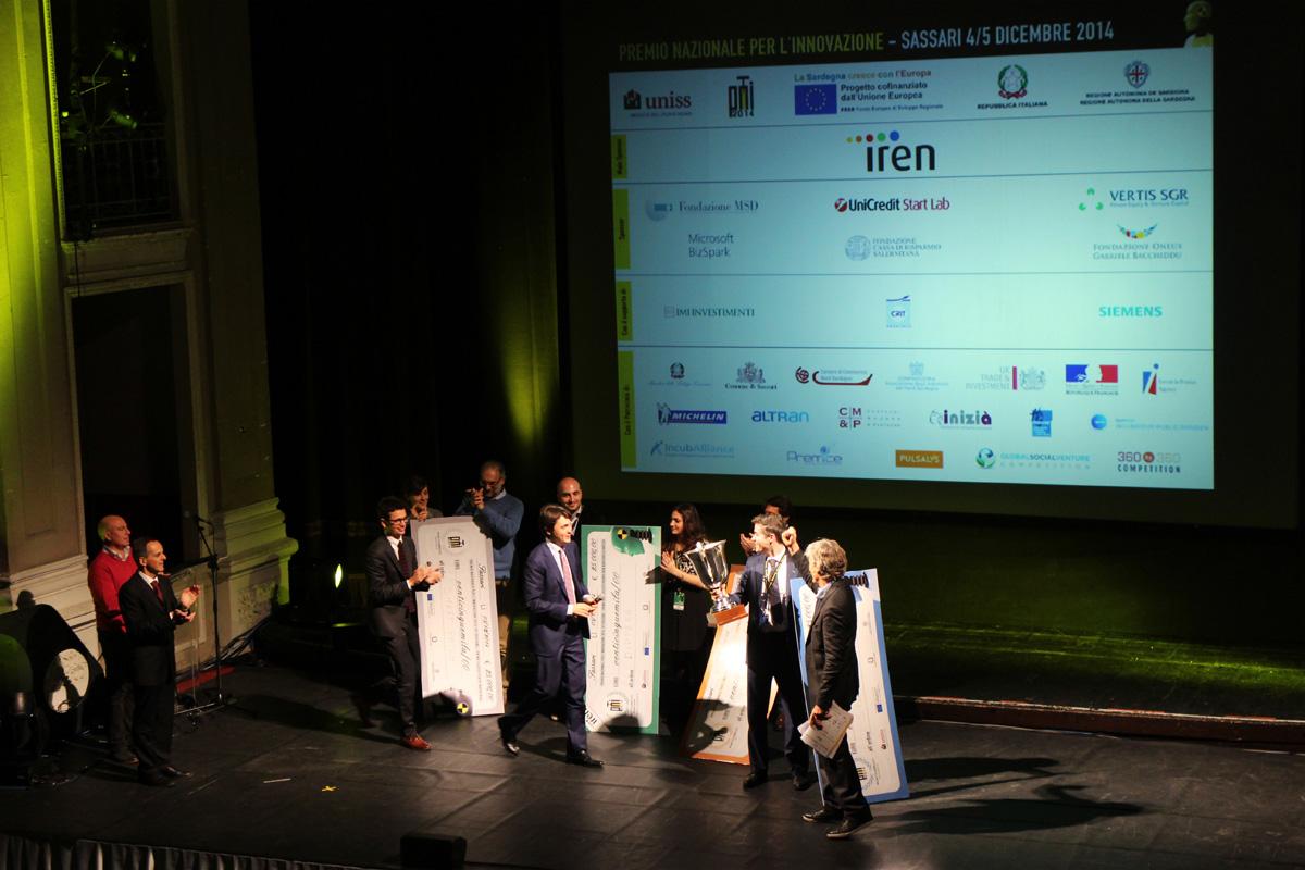 Silk Biomaterials Premio Nazionale per l'innovazione 2014